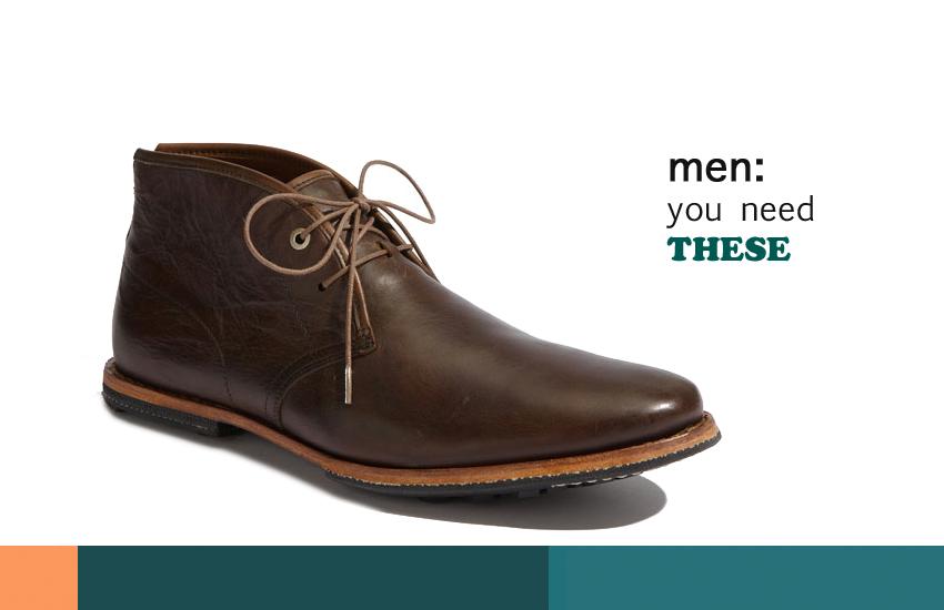 Timberland Chukka's Your Man Needs