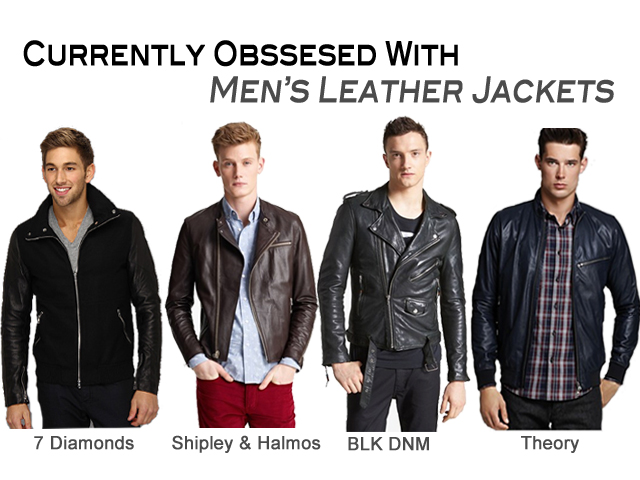 Trending: Men's Leather Jackets