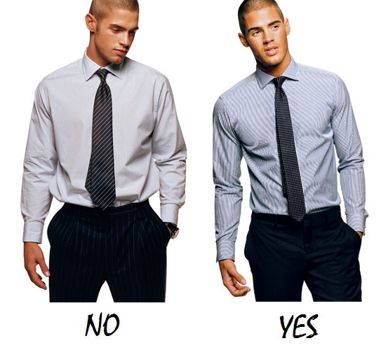 Men's Dress Shirt Fit Guide - Miss Zias