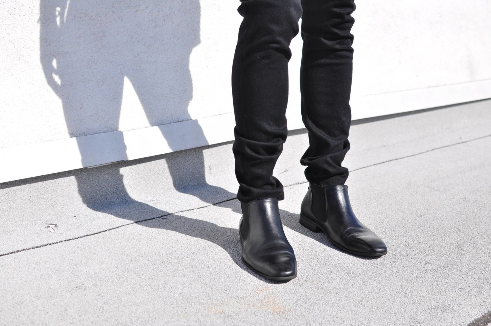 how to wear chelsea boots with skinny jeans