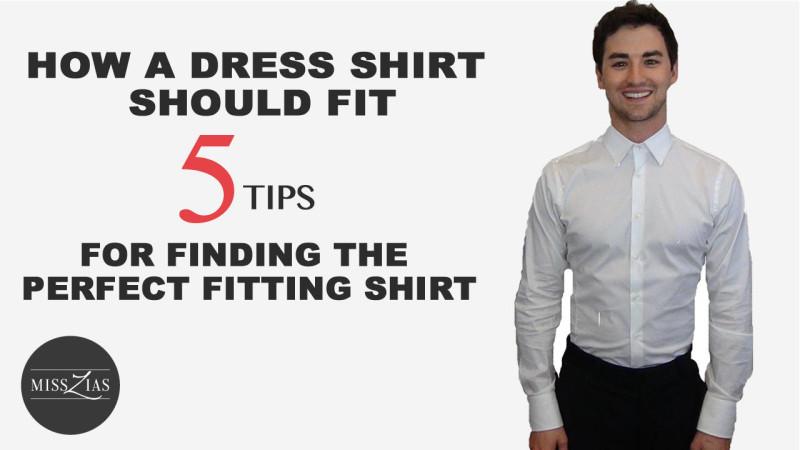 Men's Dress Shirt Fit Guide