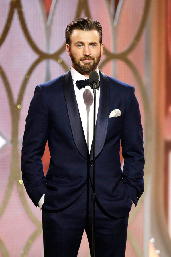 Navy Tux Style as seen by Hollywood's Leading Men