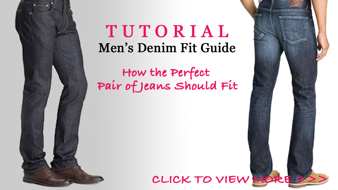 Best Fitting Jeans For Men - Miss Zias