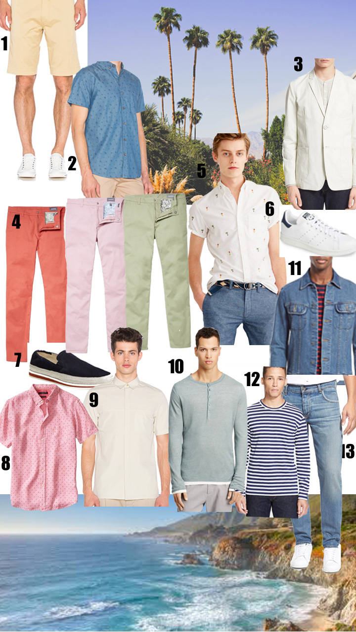 Spring and Summer Shopping Guide for Men 2016