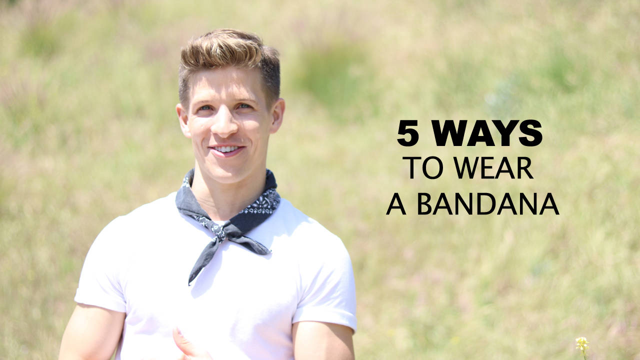 5 ways to wear a bandana