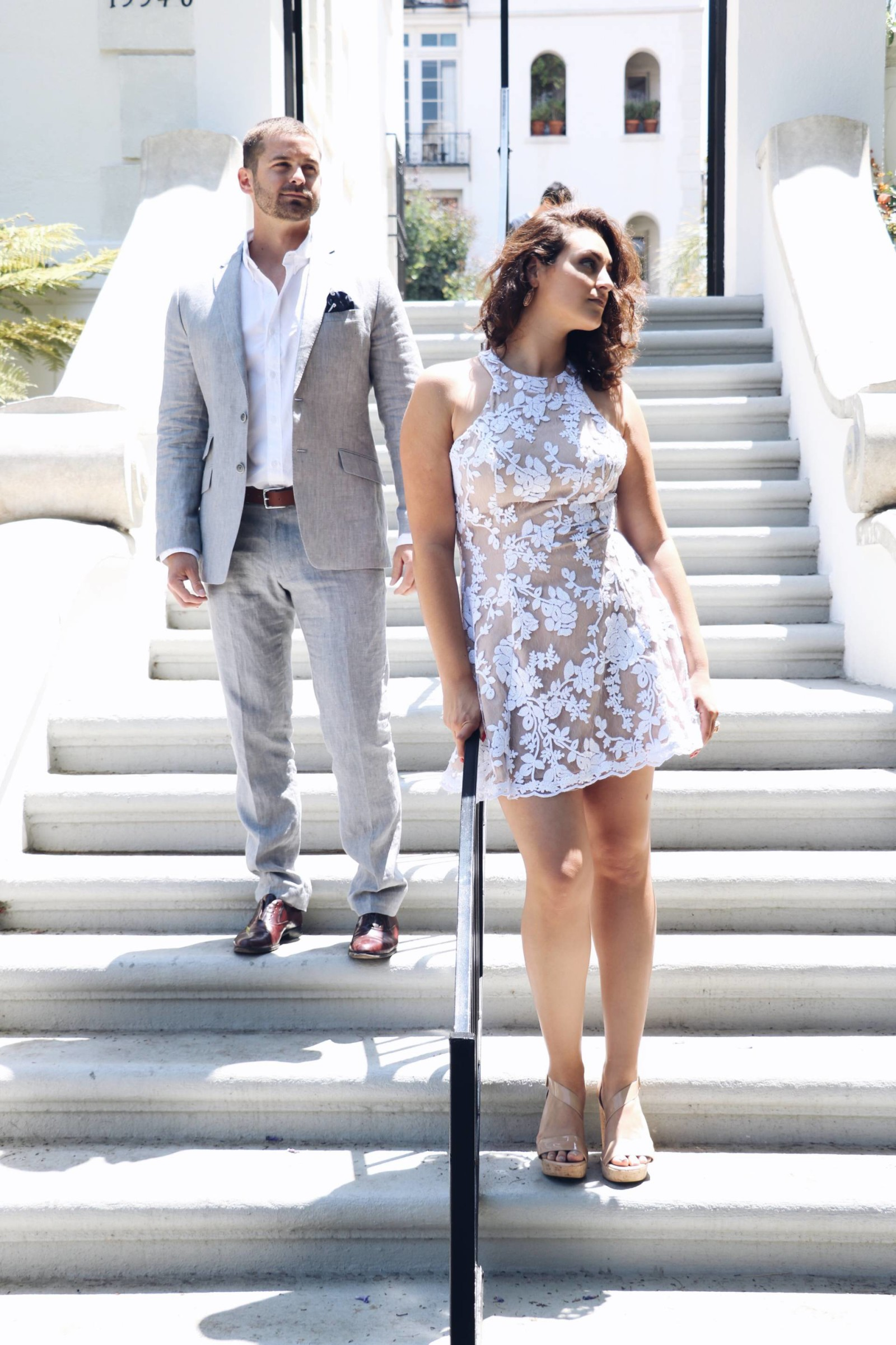 What to Wear to a Summer Wedding- His & Hers