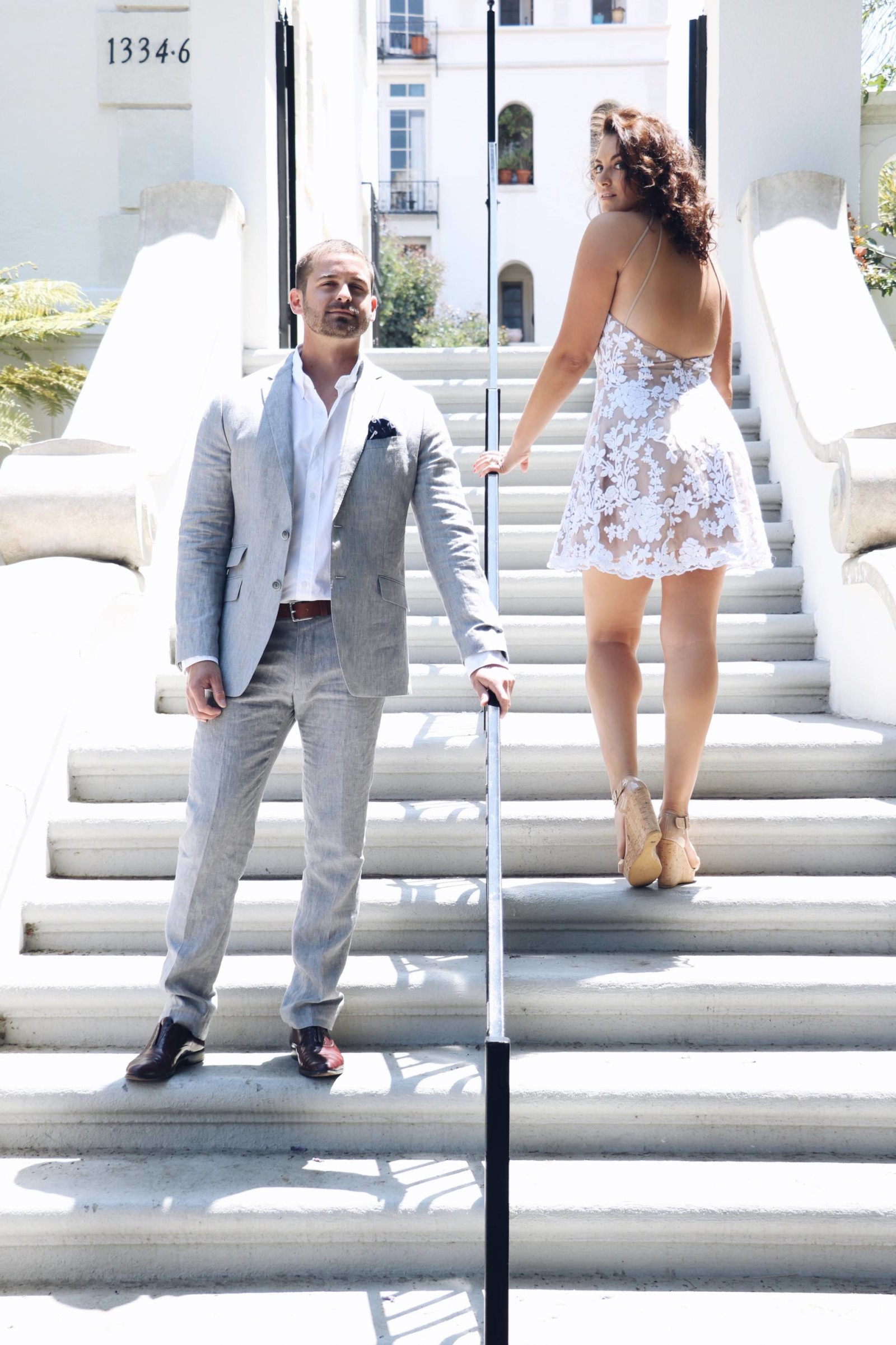 summer wedding his and hers fashion- what to wear