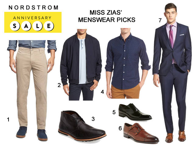 Nordstrom Anniversary Sale Guide for Men 2016