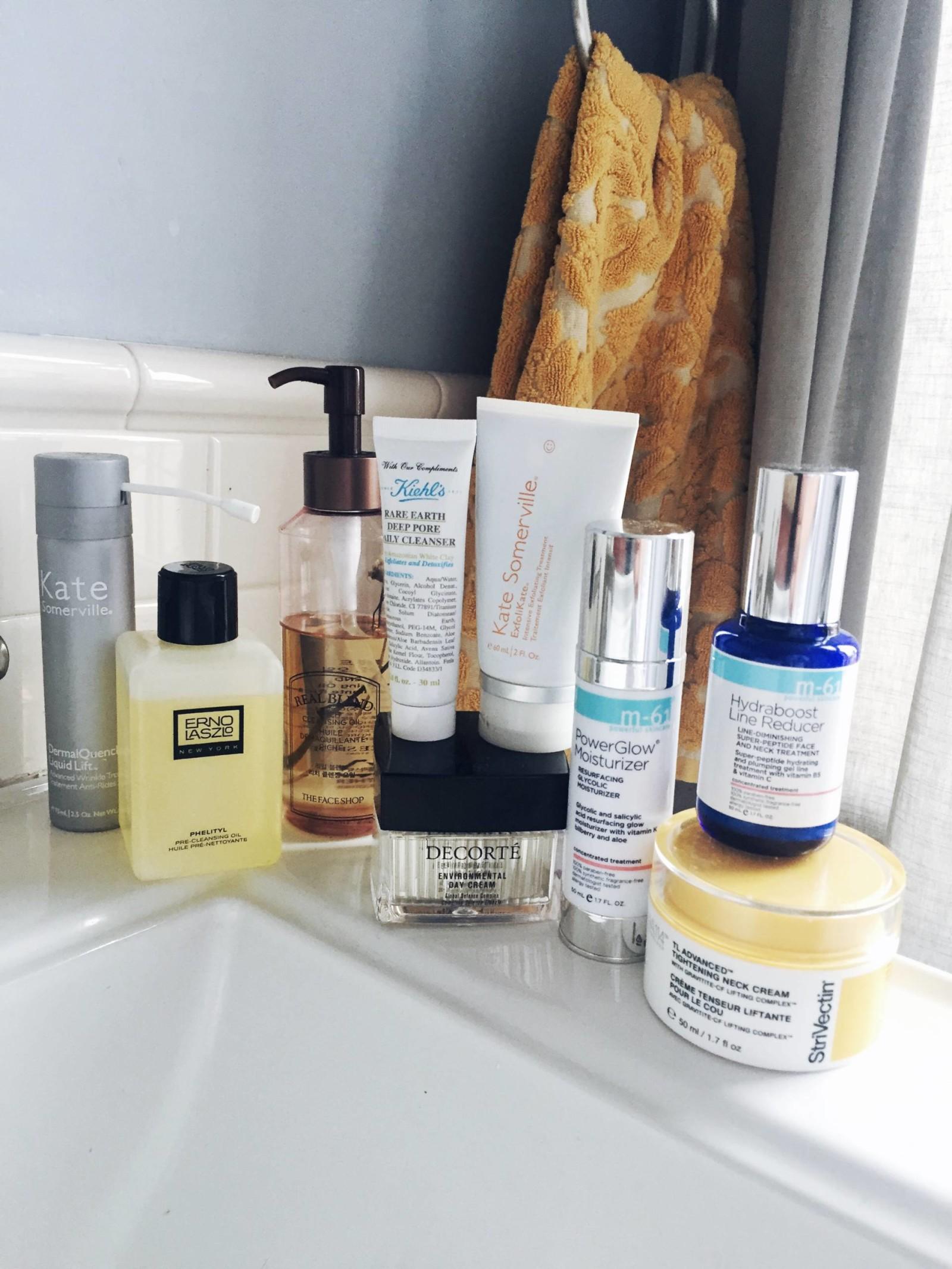 designer skincare products