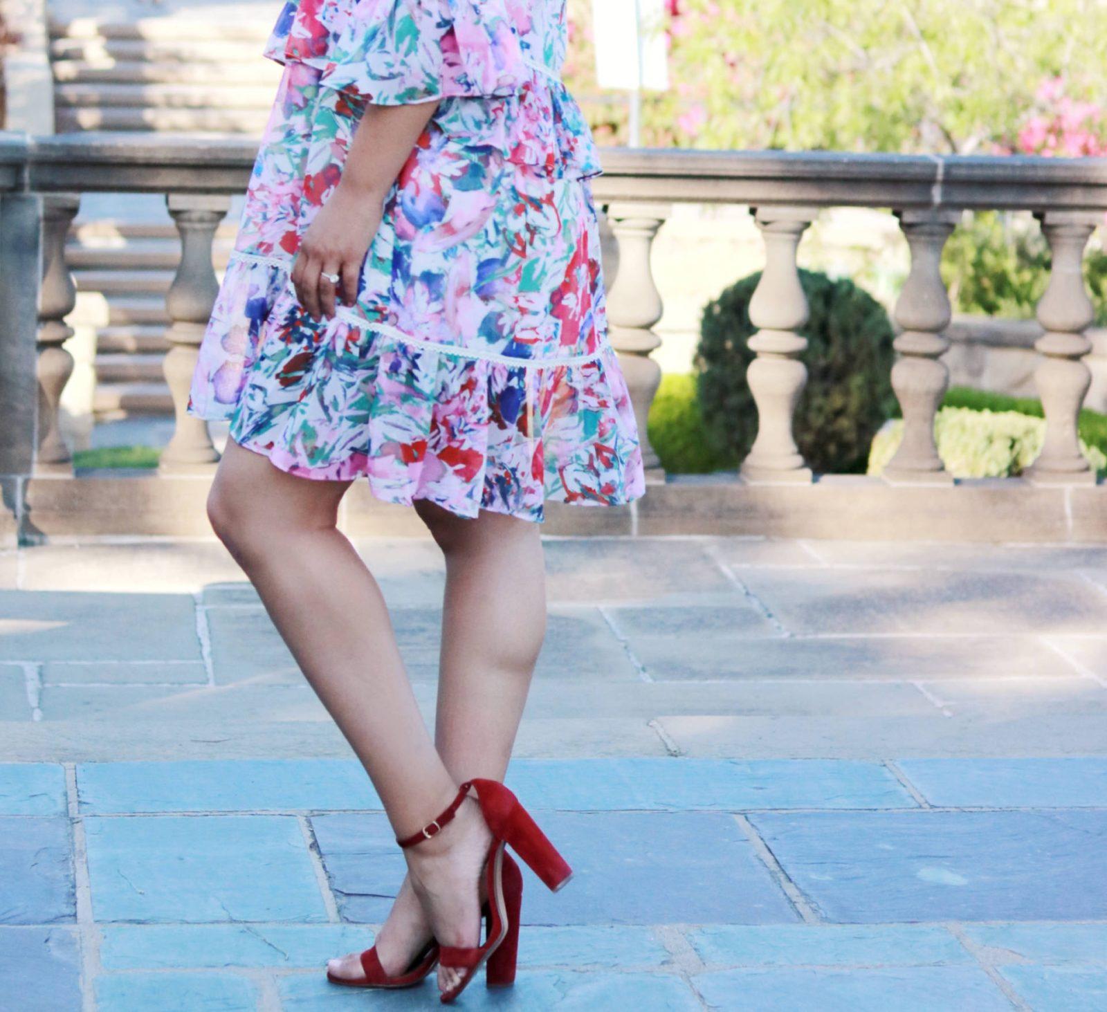 flirty summer dress