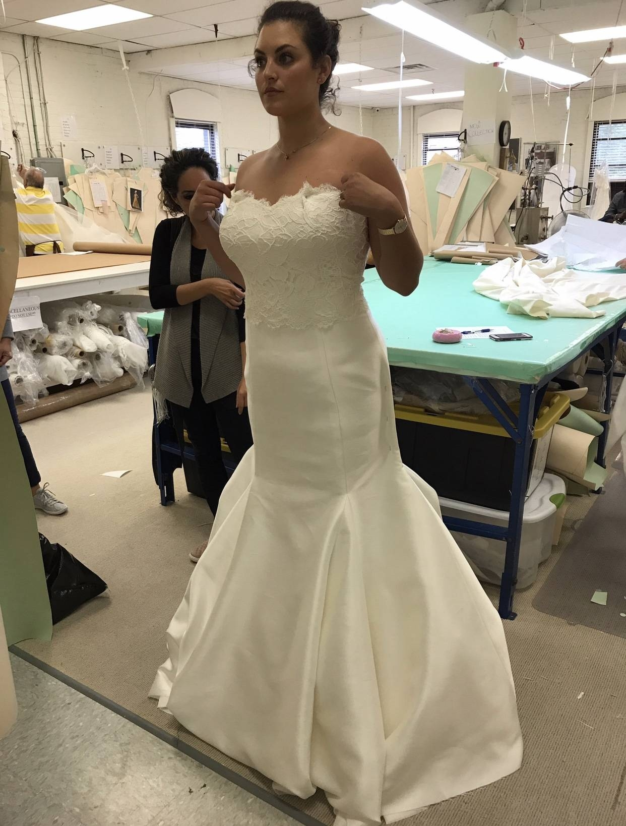 5046ac2d2502 When I arrived at the studio two days later, I had my dream dress. It was  incredible. Sarah not only made me a custom wedding dress in 2 weeks, ...